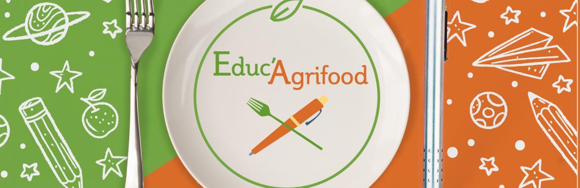 EDUC'AGRIFOOD : pour devenir un adulte accompli, il est aussi important de savoir bien manger, que de savoir lire, écrire ou compter