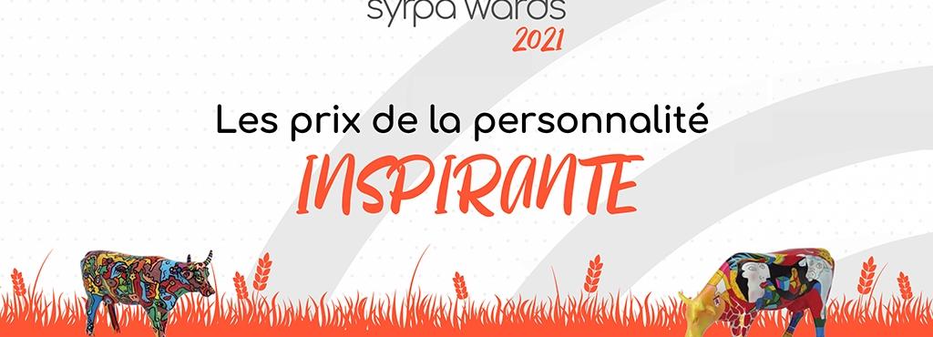 [Communiqué de presse] Syrpa'Wards 2021 le SYRPA récompense 6 personnalités inspirantes du monde agricole et alimentaire