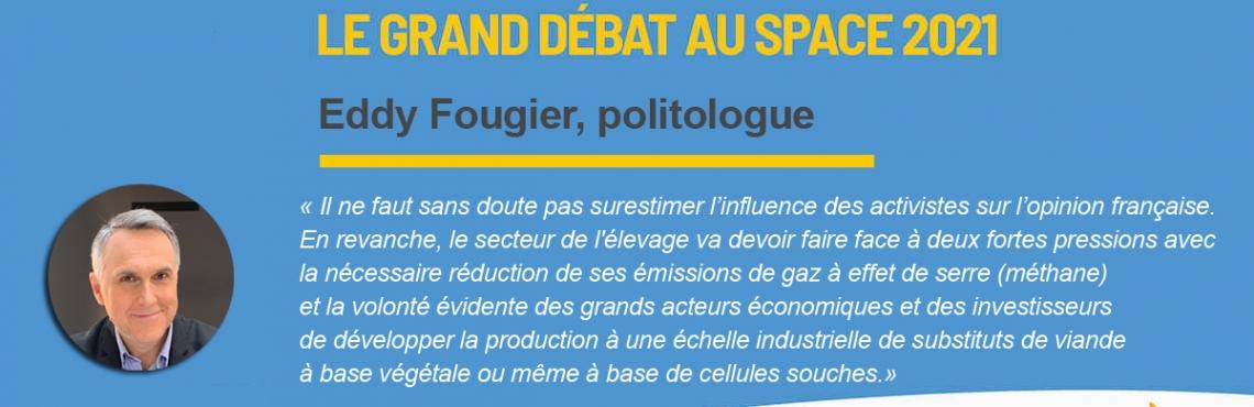 [Évènement 📆] Eddy Fougier est Grand Témoin du Grand Débat du SPACE 2021