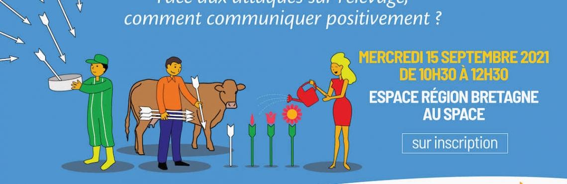 Communiqué de presse - Le Grand Débat questionne la communication autour de l'élevage